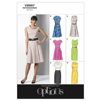 Vogue Misses'/Misses' Petite Dress Pattern V8667 Size BB0