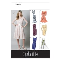 Vogue Misses'/Misses' Petite Dress Pattern V8766 Size AA0