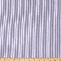 Cotton Seersucker Stripe Lavender/White