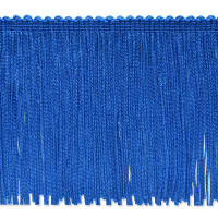 "4"" Stretch Chainette Fringe Trim Royal"