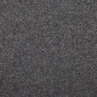 Washable Melton Wool Solid Medium Grey