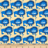 Seven Islands Lions Twill Blue