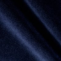 P Kaufmann Obsession Cotton Velvet Midnight