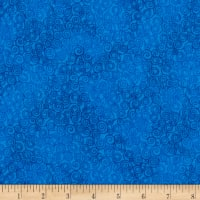 Timeless Treasures Jazz Flannel Royal