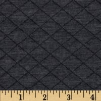 Telio Cozy Quilt Knit Charcoal