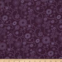 Westrade 110 In. Wide Quilt Back Signature Purple