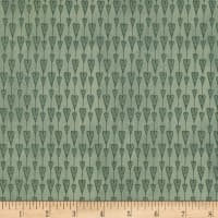 Mirabelle Hearts Dark Green
