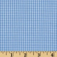 "Imperial 60"" Gingham 1/16"" Light Blue"