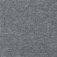 Telio Stretch Bamboo Rayon Rib Knit Solid Ash Grey