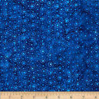 Wilmington Batiks Mini Dots Dark Blue