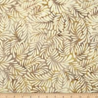 Wilmington Batiks Feathers Dark Cream