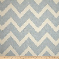 P Kaufmann Indoor/Outdoor Jacquard Chevron Ocean