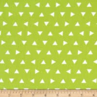 Kaufman Remix Triangles Scatter Lime