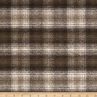 Kaufman Mammoth Flannel Plaid Green