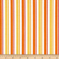 QT Fabrics Universal Despicable Me 1 in A Minion Stripe Orange