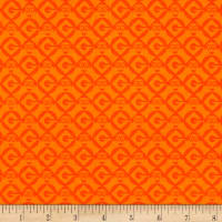 QT Fabrics Universal Despicable Me 1 in A Minion Set Geo Blender Orange