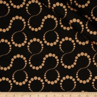Orbit Metallic Swirl Dot Copper/Black