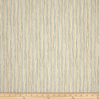 Magnolia Home Fashions Sullivan Stripe Charcoal