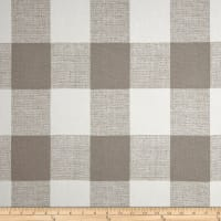 Premier Prints Anderson Check Home Decor Fabric French Grey