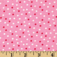 Robert Kaufman Remix Small Dots Pink