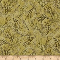 QT Fabrics Whitetail Ridge Branches Light Green