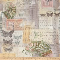 Tim Holtz Electric Elements Wall Flower Botanical Multi