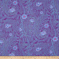 Kaffe Fassett Ferns Purple