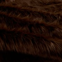Shannon Faux Fur Monkey Brown