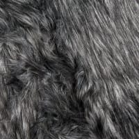 Shannon Faux Fur Monkey Shag Charcoal