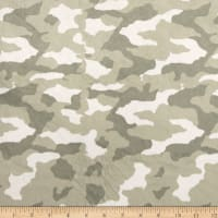 Minky Top Dog Camo Khaki