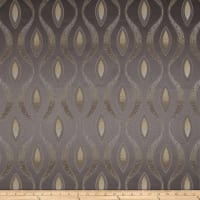 Eroica Eclectic Chenille Jacquard Abstract Steel