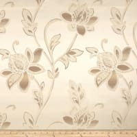 Eroica Glamour Chenille Jacquard Floral Alabaster