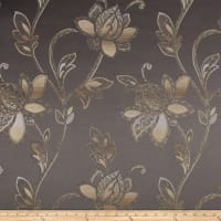 Eroica Glamour Chenille Jacquard Floral Steel