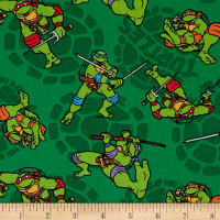 Nickelodeon Teenage Mutant Ninja Turtles Retro Mutated in 1984 Green