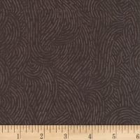 "110"" Wide Flannel Quilt Backing Seacoast Brown"