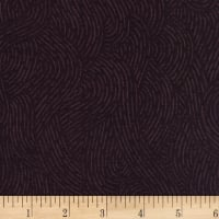 "110"" Wide Flannel Quilt Backing Seacoast Raisin"