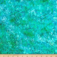 "Timeless Treasures 106"" Batik Quilt Back Alpaca Scuba"