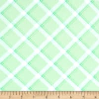 Kanvas Breezy Baby Flannel lullaby Plaid Light Green