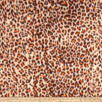 Fleece Skins Cheetah Brown