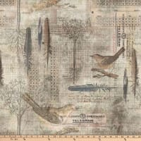 Tim Holtz Wallflower Aviary Multi
