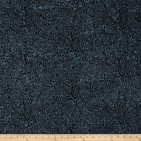 Wilmington Batiks Rippled Reflections Black/Gray