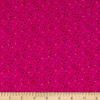 Essentials Brights Petite Dots Dark Pink