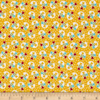 Riley Blake Bloom & Bliss Tulip Yellow