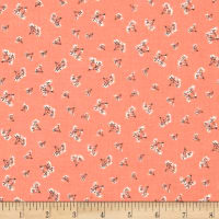 Riley Blake Fancy & Fabulous Breath Coral