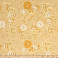 Riley Blake Chatsworth Floral Yellow