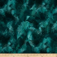 Enchanted Pines Ferns Emerald