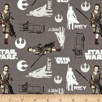 Star Wars The Force Awakens Rey Iron