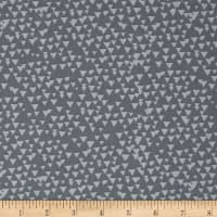 Timeless Treasures Triangle Geo Grey