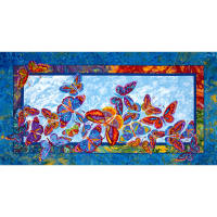Marblehead Butterflies Are Free Panel Multi