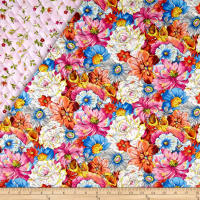 Fantasia Double Sided Quilted Floral Multi